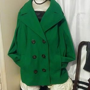 Double breasted wool coat-old navy